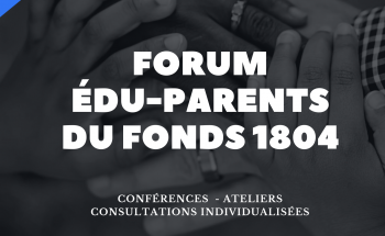 2e Forum Édu-Parents en ligne